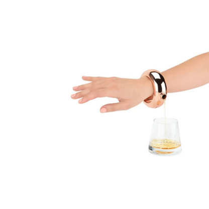 Booze Bangle - Rose Gold Hip Flask Bracelet
