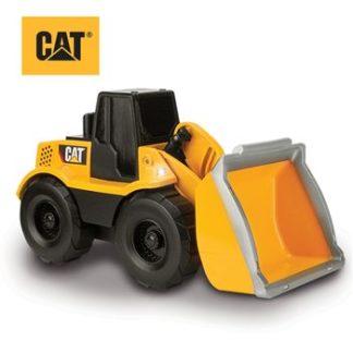 """CAT Big Builder 9"""" Light & Sound Wheel Loader"""