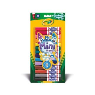 Crayola - 14 Pip-Squeaks Mini Markers