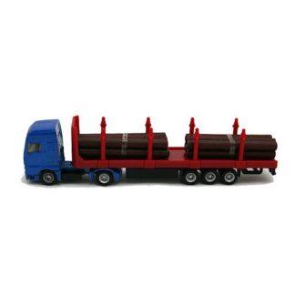 Die-Cast Log Transporter Truck