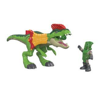 Imaginext Jurassic World Figure - Dilophosaurus & Agent