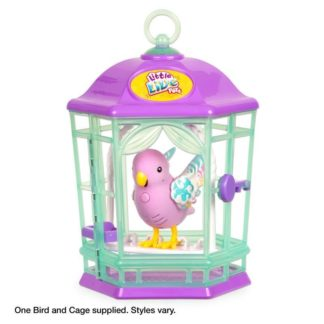 Little Live Pets Light Up Songbirds Cage - Rainbow Glow