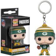 NFL Aaron Rodgers Pocket Pop! Vinyl Key Chain