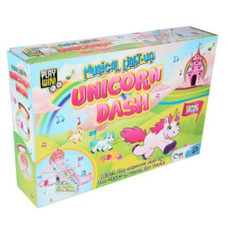 Play & Win Magical Light Up Unicorn Dash Game