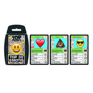 Top Trumps Emoti Cards