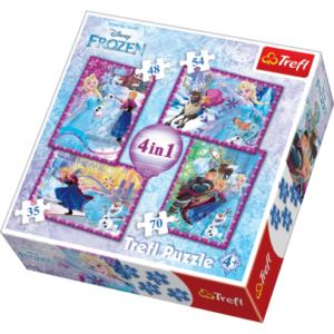 Trefl Disney Frozen 4in1 - Puzzles