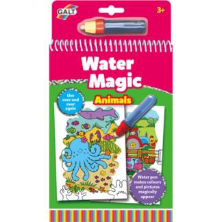 Water Magic Animals Drawing Book