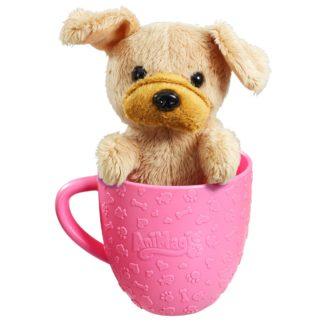 AniMagic Tea Cup Pets Kitten Puppy Cute Sounds Soft Toy