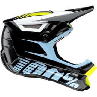 100% Aircraft DH Full Face Helmet - Fiji Black