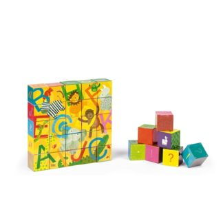 Janod Kubkid 32 Blocks - Alphabet