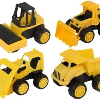 Halsall Toys 4 Pack Construction Trucks