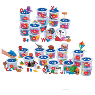 Alphabet Sounds Teaching Tubs