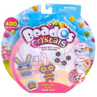 Beados Bag Tag Fun Crystal Theme Pack