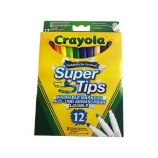 Crayola Supertips Pens - 12 Pack