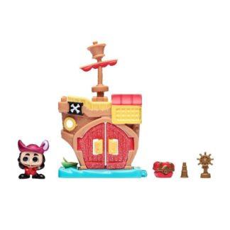 Disney Doorables Micro Display Play Set - Hook's Pirate Ship