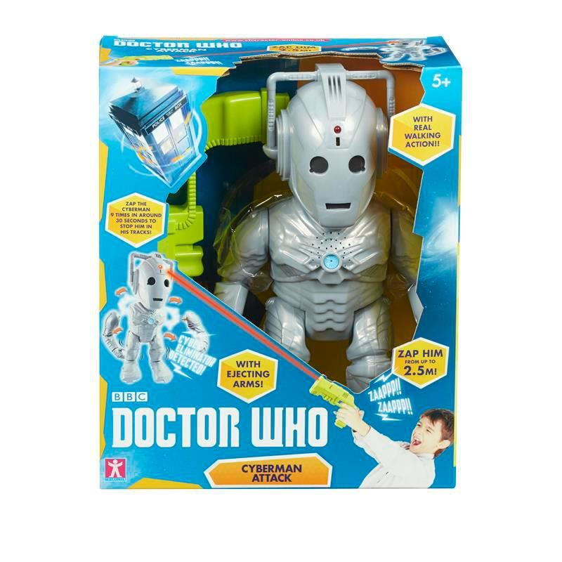 Doctor Who Toys Interactive Cyberman Attack