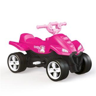 Dolu Unicorn Kids Pedal Operated Quad - Pink
