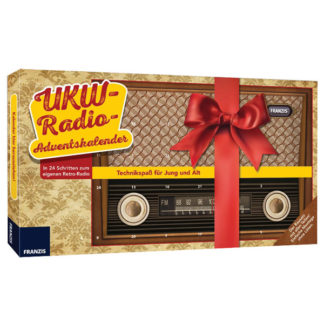 Franzis 65344 FM Radio Advent Calendar - no soldering