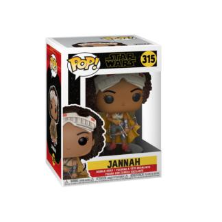 Funko Pop! Movies: Star Wars The Rise of Skywalker - Jannah Bobble-Head