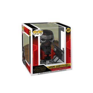 Funko Pop! Movies: Star Wars The Rise of Skywalker - Supreme Leader Kylo Ren In The Whisper Bobble-Head