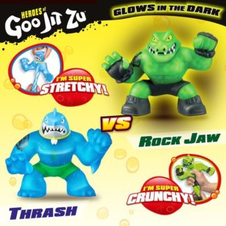 Heroes of Goo Jit Zu Versus 2 Pack - Thrash Vs Rockjaw