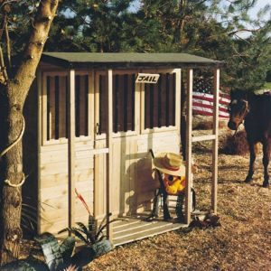 Jailhouse 6X4 Playhouse - with Assembly Service