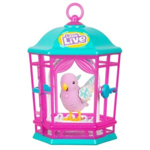 Little Live - Light Up Songbirds Cage S9 - Rainbow Glow