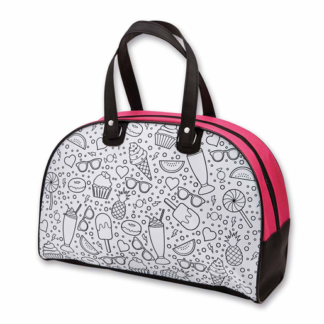 Out To Impress Colour Your Own Sleepover Bag