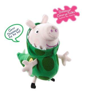 "Peppa Pig 7"" Talking Dinosaur George"