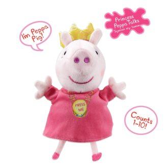 Peppa Pig 7 inch Talking Princess Peppa Soft Toy