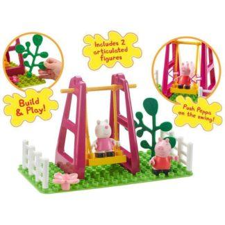 Peppa Pig Construction Toys Playground Swing Set