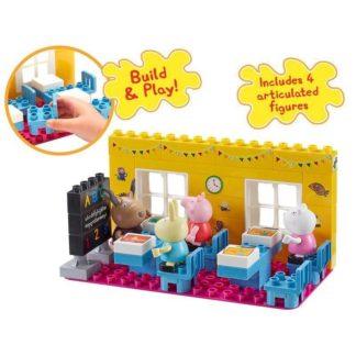 Peppa Pig Construction Toys Schoolhouse Set