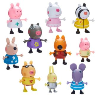 Peppa Pig Dress Up 10 Figure Set Wave 2