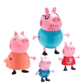 Peppa Pig Family Pack of Figures