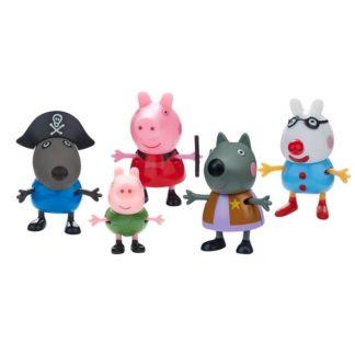 Peppa Pig Fancy Dress 5 figure pack Wave 2