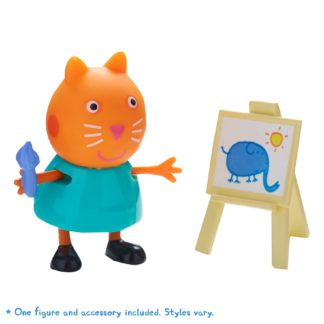 Peppa Pig Figure & Accessory - Artist Candy with Easel