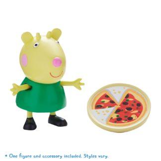Peppa Pig Figure & Accessory - Gabriela Goat with Pizza