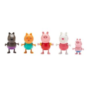 Peppa Pig Holiday Time Toys Five Figure Pack