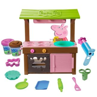 Peppa Pig - Peppa's Mud Kitchen Dough Set