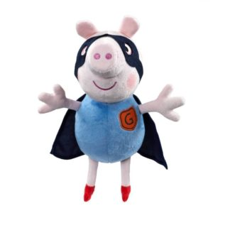 Peppa Pig Supersoft 10 inch Soft Toy - Hero George