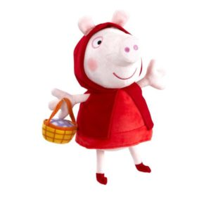 Peppa Pig Supersoft 10 inch Soft Toy - Red Riding Hood Peppa