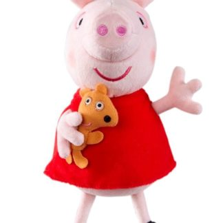Peppa Pig Supersoft Collectable Soft Toy - Peppa