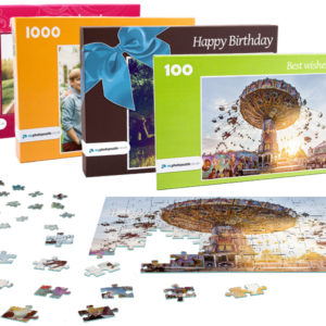 Photo Puzzle with up to 2000 pieces