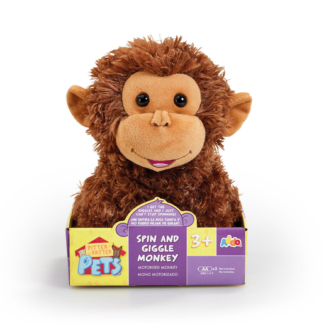 Pitter Patter Pets Spin and Giggle Monkey