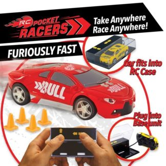 Pocket Racers - Bull (Red)