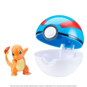 Pokémon Clip 'N' Go Poké Ball - Charmander and Great Ball
