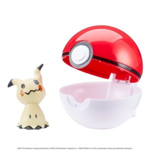 Pokémon Clip 'N' Go Poké Ball - Mimikyu and Poké Ball