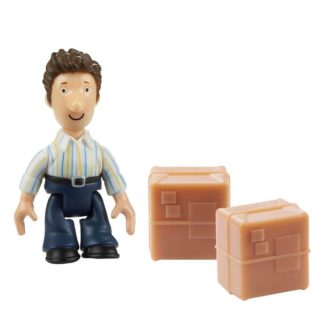 Postman Pat Figure & Accessory - Ben Taylor and 2 Parcels