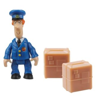 Postman Pat Figure & Accessory - SDS Pat and 2 Parcels
