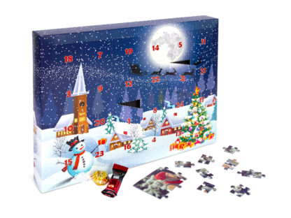 Puzzle Advent Calendar 200 pieces